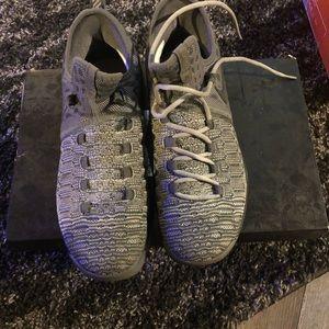 Nike grey KD9 basketball shoes